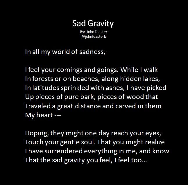 Sad Gravity