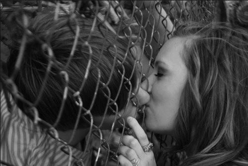 Fence Kiss