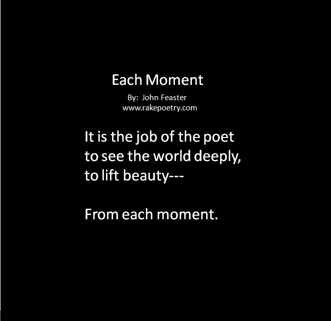 Each Moment Poem